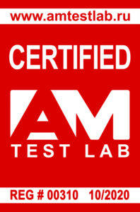 Certified by AM Test Lab сертификат SafePhone